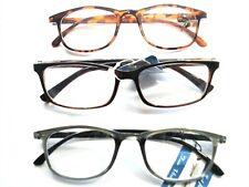 3 New Bifocal READING GLASSES +2.25 Men's Variety fashion Frames Quality comfort
