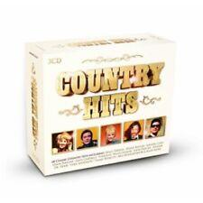 ROY ORBISON/JOHN DENVER/GLEN CAMPBELL/DR. HOOK/+ - COUNTRY HITS  3 CD  NEW!