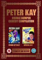 Peter Kay Double Bumper - Sdand Up Comedy Collection Brand New Sealed Region DVD