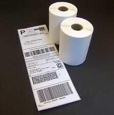 20 Rolls 4x6 Direct Thermal Shipping Labels - 250/roll - Zebra 2844 ZP450 Eltron