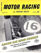 Motor Racing and Motor Rally Jan1960 With Briggs Cunningham Autograph