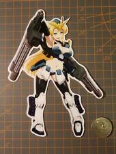 Gundam Wing Girl Heavyarms Sticker Hot