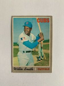 1970 O-Pee-Chee #318 Willie Smith - Chicago Cubs