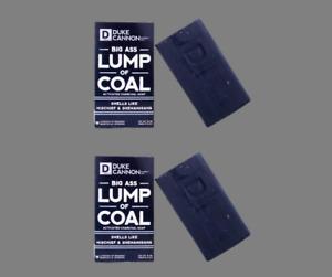 Duke Cannon Big Ass Lump Of Coal Big Brick of Soap for Men 10 oz  Lot 2 USA Gift