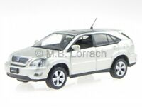 Toyota Harrier = Lexus RX 2006 XU30 ivory diecast model car  J-Collection1/43