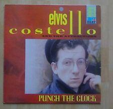 ELVIS COSTELLO & The Attractions Vinyl LP  Punch The Clock, EX