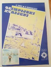 WINTER OLYMPIC GAMES SARAJEVO 1984 BOOK signed by olympic referee