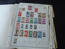 Spanish Colonies 1929-1970s Stamp Collection on Album Pages