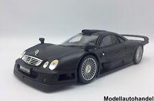 MERCEDES BENZ CLK-GTR STREET VERSION - matt schwarz - 1:18 MAISTO - UVP 58,50 €