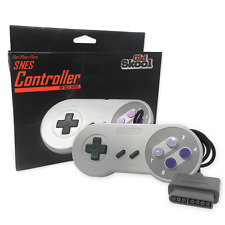 Old Skool NEW 16 Bit Controller for Super Nintendo SNES System Control Pad