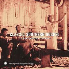 NEW Classic Southern Gospel (From Smithsonian Folkways) (Audio CD)