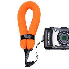 Espuma Flotante Correa de Mano para Cámara Compacta Canon Sony Nikon Olympus../Naranja