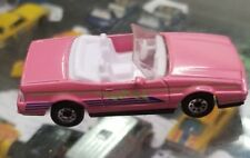 Matchbox Cadillac Allante Convertible Pink 1/64 Scale JC57