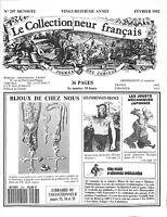 LE COLLECTIONNEUR FRANCAIS BIJOUX INDIENS JOUETS JAPONAIS REVUE N° 297 1992