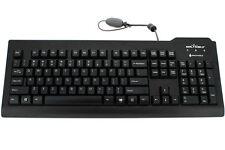 Seal Shield Silver Seal QWERTY Keyboard - Black - US Layout