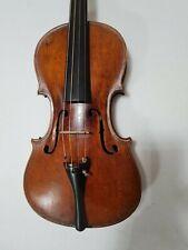 Alte Italienische Geige Meistervioline Etikett. Gagliano in Milano 1817