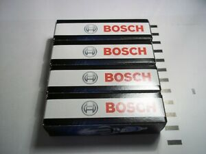 Set of 4 Bosch FR78 Super 4 Spark-Plugs fit AUDI 1.8T 1996 - 2009 ( See table )