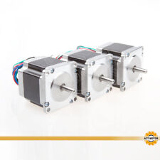 ACT MOTOR GmbH 3PCS Nema23 Stepper Motor 23HS6430 56mm 3A 4Leads 1.1Nm φ6.35mm