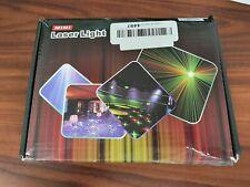 DJ Laser Light Show Projector Red Green Blue Laser with LED 96 Patterns RGRB ...