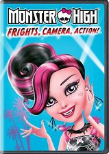 Monster High: Frights, Camera, Action (DVD, 2017)