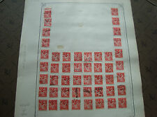 FRANCE - timbre yvert  et tellier n° 433 x48 obl (br1) stamp french