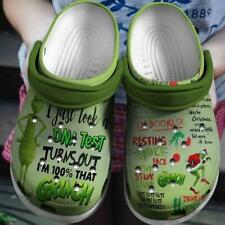 The Grinch Crocband Clog Unisex Fashion Style For Women, Men