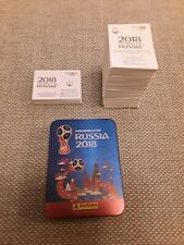 Panini world cup 2018 stickers and tin