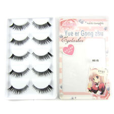 YEGZ Popular EHW-5 Thick Cross False eyelashes Clear band fake eye lashes makeup