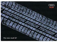 Audi Q7 2005-06 UK Market Launch Mailer CD-Rom Brochure