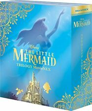 DISNEY-THE LITTLE MERMAID TRILOGY MOVIENEX-JAPAN 3Blu-ray+3DVD Ltd/Ed Z25
