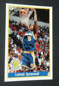 #139 SPREWELL GOLDEN STATE WARRIORS PANINI BASKETBALL NBA USA 1994-1995 94-95