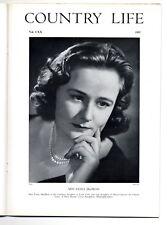 1957 COUNTRY LIFE Magazine FIONA MACBEAN Sherringham Hall Norfolk INKSTANDS 4313