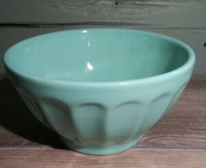 """ANTHROPOLOGIE Biscuit Latte Bowl Cereal Soup Nuts Berries Portugal 5-1/2"""" EUC"""