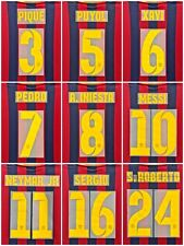 Barcelona 2013-14 Name Set number Sipesa Home Player Issue  Messi