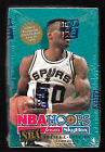 1994-95 HOOPS BASKETBALL SERIES 1 FACTORY SEALED 36 PACK BOX (70 HALL OF FAMERS)