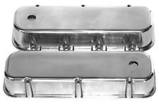 BBC Polished Aluminum Tall Valve Covers Chevy 396 427 454 496 502