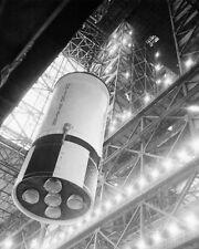 APOLLO 10 SATURN V ROCKET ASSEMBLY NASA 11x14 SILVER HALIDE PHOTO PRINT