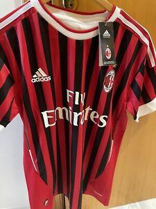 Maglia Milan Ibrahimovic 2011-12 Taglia M Numero 11 NO PATCH Spedizione Veloce