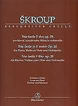 Trio Sheet Scores&Parts Books
