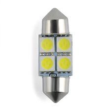 10X 5050 31mm 4SMD Car RV Interior Dome Festoon White LED Light Bulbs Lamp DC12V
