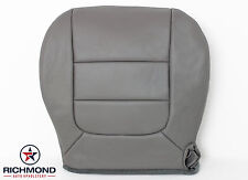 2003 Ford F150 Lariat-Front Driver Captain Bucket Bottom Leather Seat Cover Gray