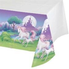 Unicorn Fantasy Plastic Banquet Tablecloth Girls Birthday Party Decorations