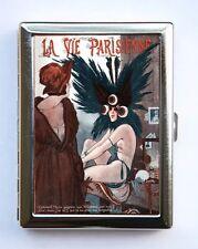 Art Deco La Vie Parisienne Flapper Cigarette Case id case Wallet #2