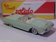 5 INCH Ford Thunderbird 1961 Solido 1/43 Diecast Mint in Numbered Box
