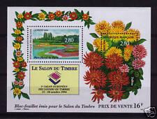 es - SALON du TIMBRE 1994 Fleurs Dalhias, BF16 **