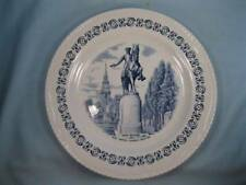 Paul Revere And Old North Church Boston Plate Wood & Sons Heritage Trail (O)