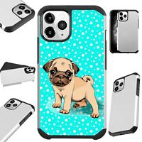 Fusion Case For iPhone 11/Pro/X/XR/XS Max Phone Cover SNOW PUG DOG