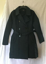 M&S Classic Collection Ladies Blue Stormwear Shower Resistant Coat/Mac, Size 16
