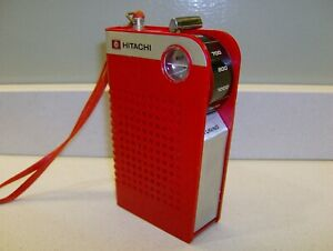 rara e particolare Hitachi TH-623 space age radio a 6 transistor vintage anni 70