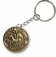 Porte clés clefs keychain voiture moto drapeau templier knights templar sceau